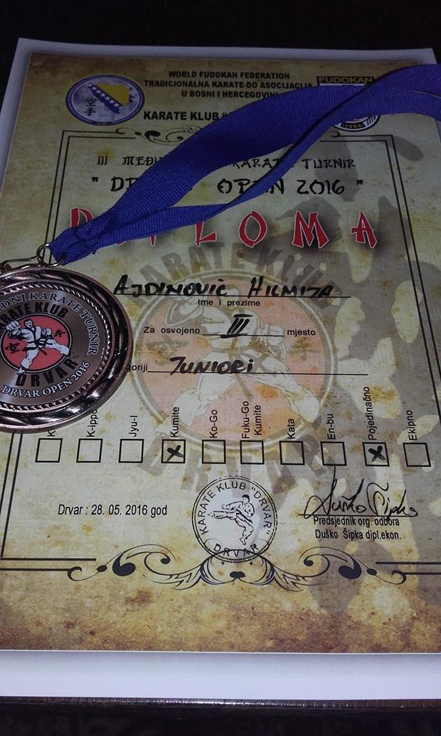 haris ajdinovic bronza drvar karate (2)