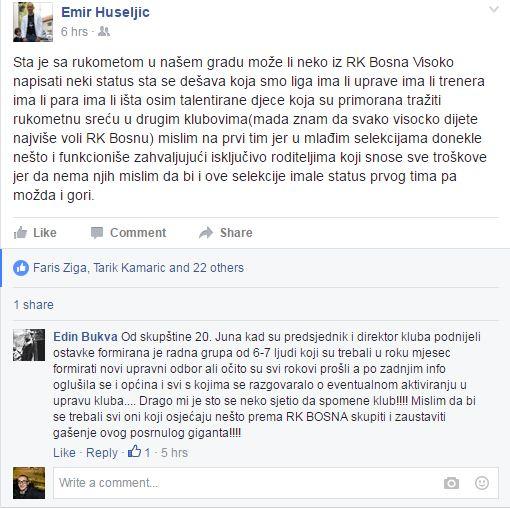 hus bukva komentar rk bosna