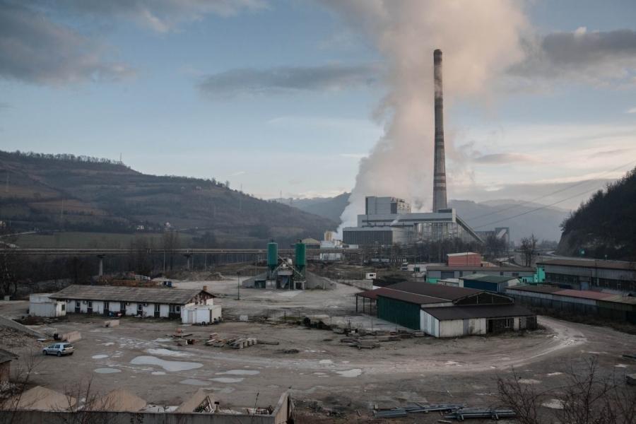 Dim iz TE Kakanj utječe na onečišćenje vazduha