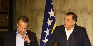 Bakir Izetbegović i Milorad Dodik / Foto: Radiosarajevo.ba