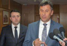 Fadil Novalić i Mirza Ganić