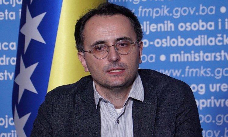 šef Službe za epidemiologiju Zavoda za javno zdravstvo Fedracije BiH Sanjin Musa
