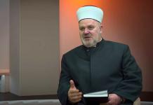 Glavni imam Medžlisa islamske zajednice u Visokom Midhat efendija Čakalović