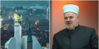 Bijela Šerefudin džamija / Glavni imam Medžlisa islamske zajednice u Visokom Midhat efendija Čakalović