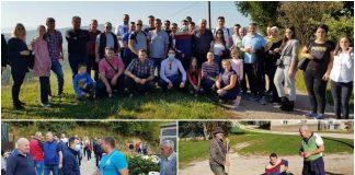 Premijer Mirza Ganić i Esad Semić sa saradnicima posjetili Gračanicu: