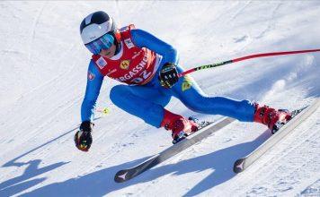 Elvedina Muzaferija skijanje
