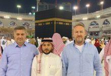 Zvizdić i Izetbegović tokom boravka u Saudijskoj Arabiji