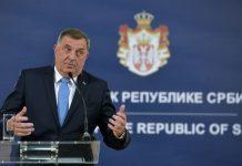 Predsjedavajući Predsjedništva Bosne i Hercegovine Milorad Dodik